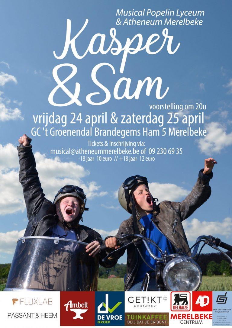 Schoolmusical Kasper & Sam – GEANNULEERD